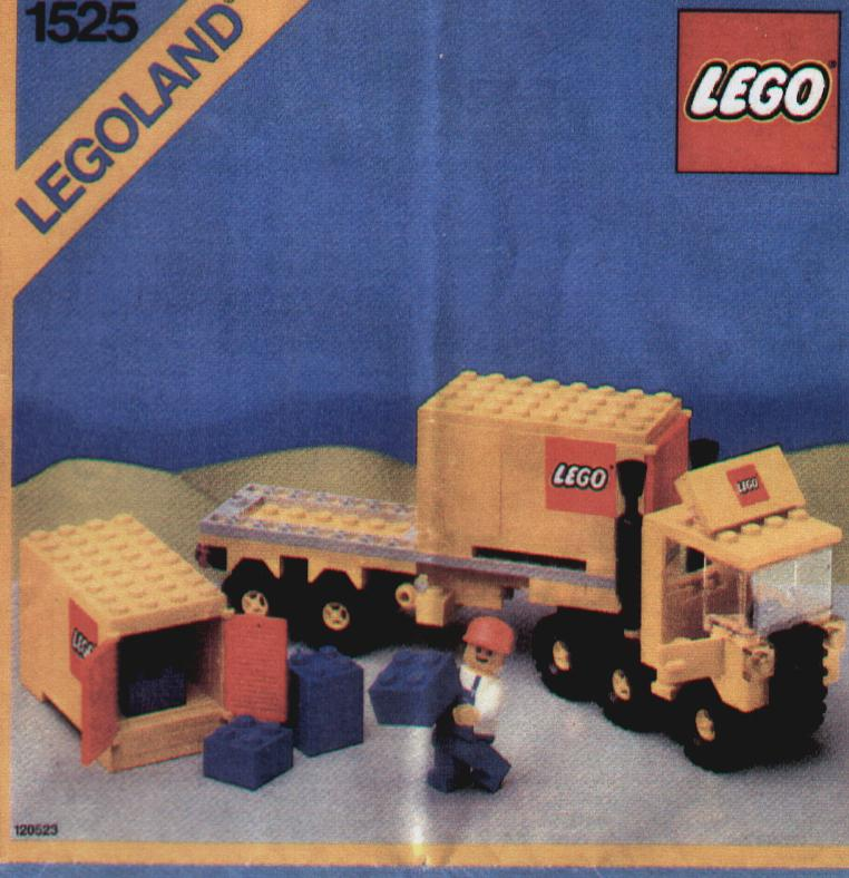 Lego Container Truck