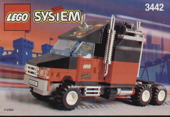Legoland California Truck
