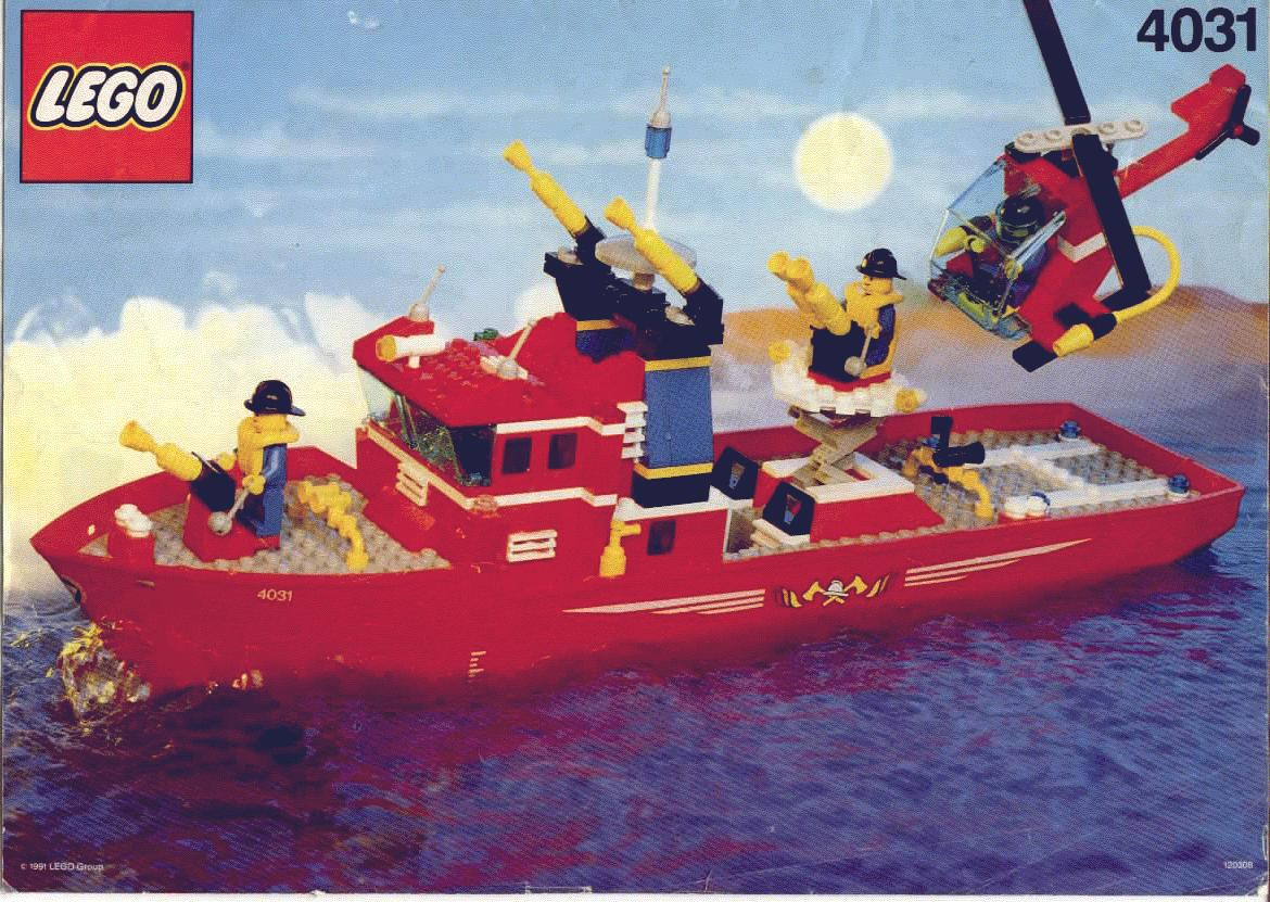 Fire Fighter Boat