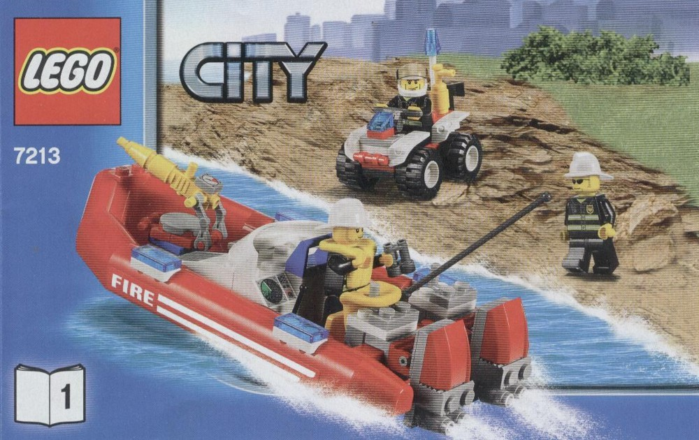 Off-road Fire Truck And Fireboat