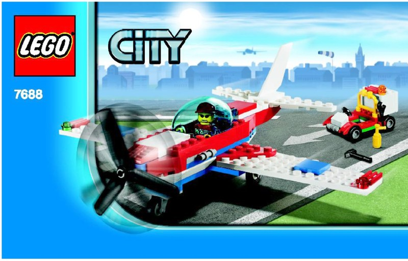 Lego Sports Plane