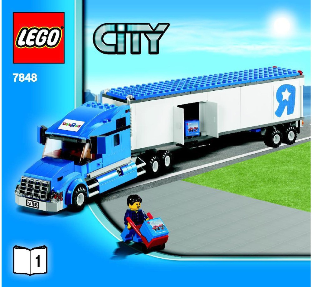 Toys R Us City Truck