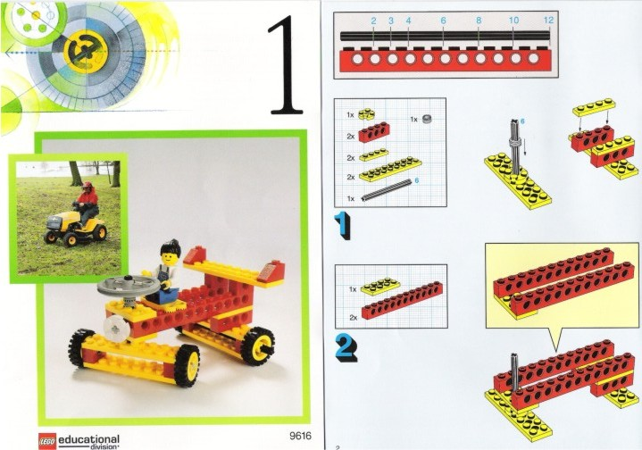 Wheels And Axles Set