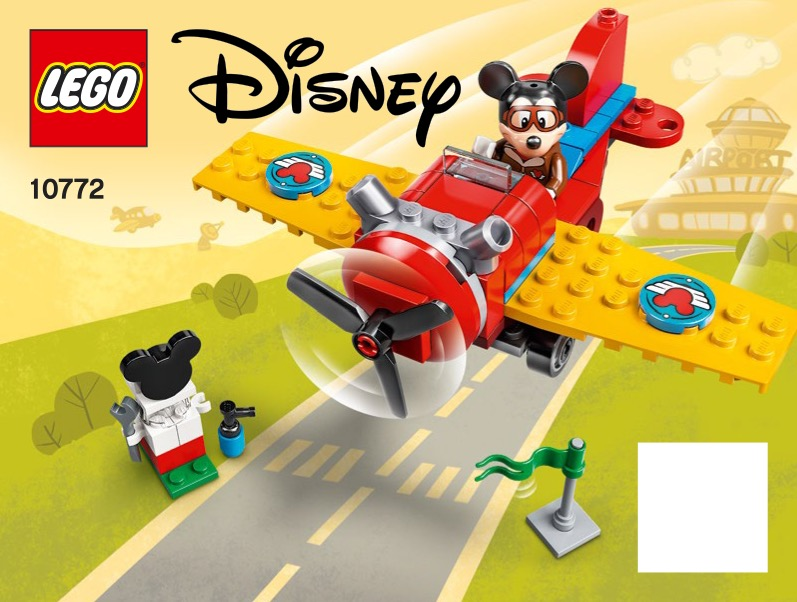 Mickey Mouses Propeller Plane