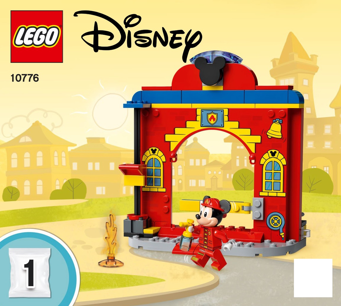 Mickey And Friends Fire Truck And Station