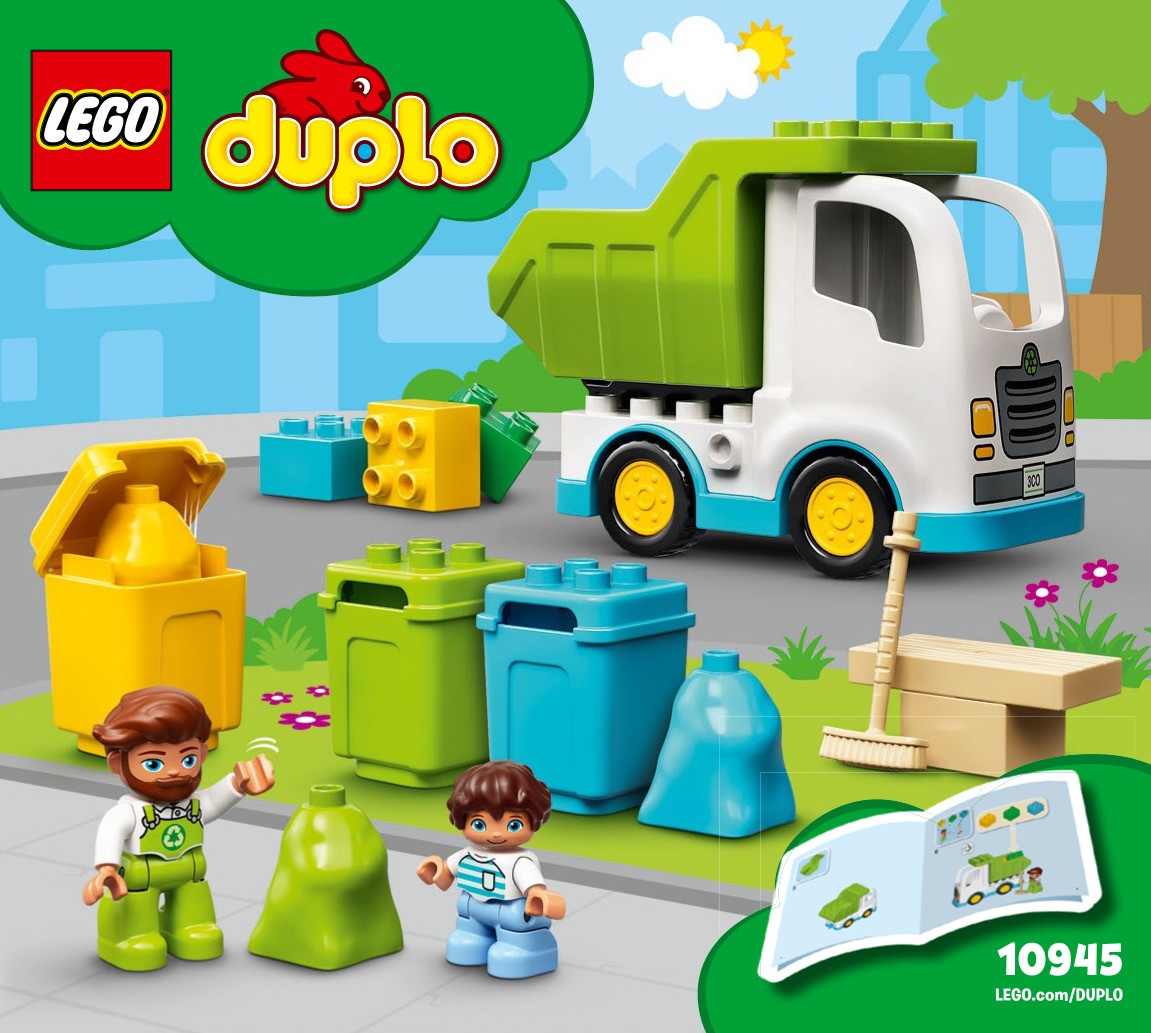 Garbage Truck And Recycling