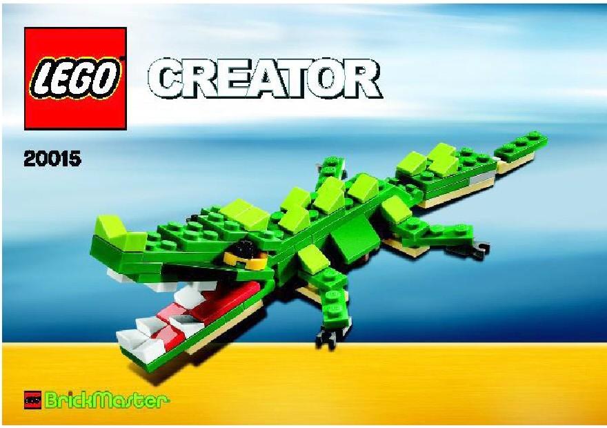 Brickmaster Creator Crocodile