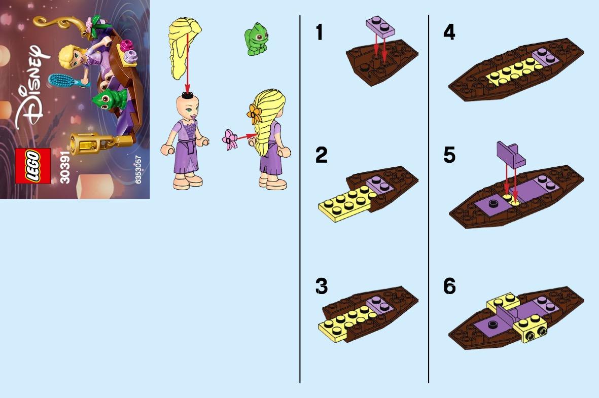 Rapunzels Boat