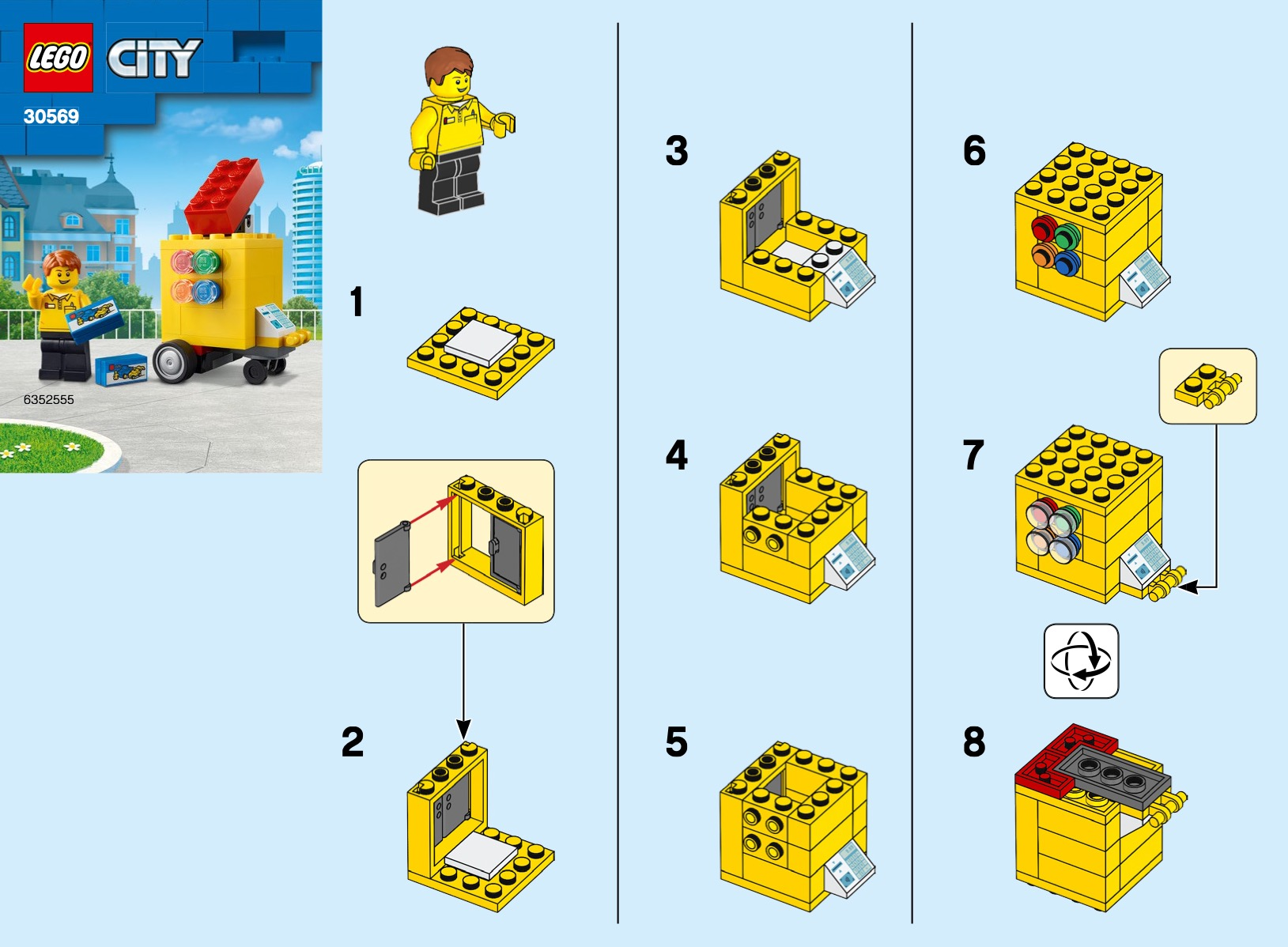 Lego Stand