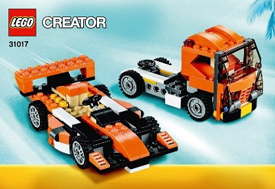 Racing Car And Truck