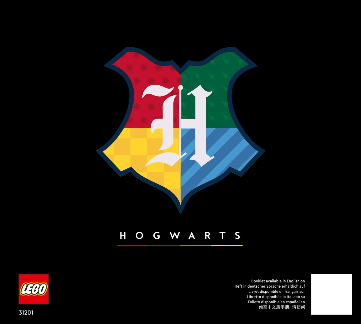 Harry Potter Hogwarts Crests