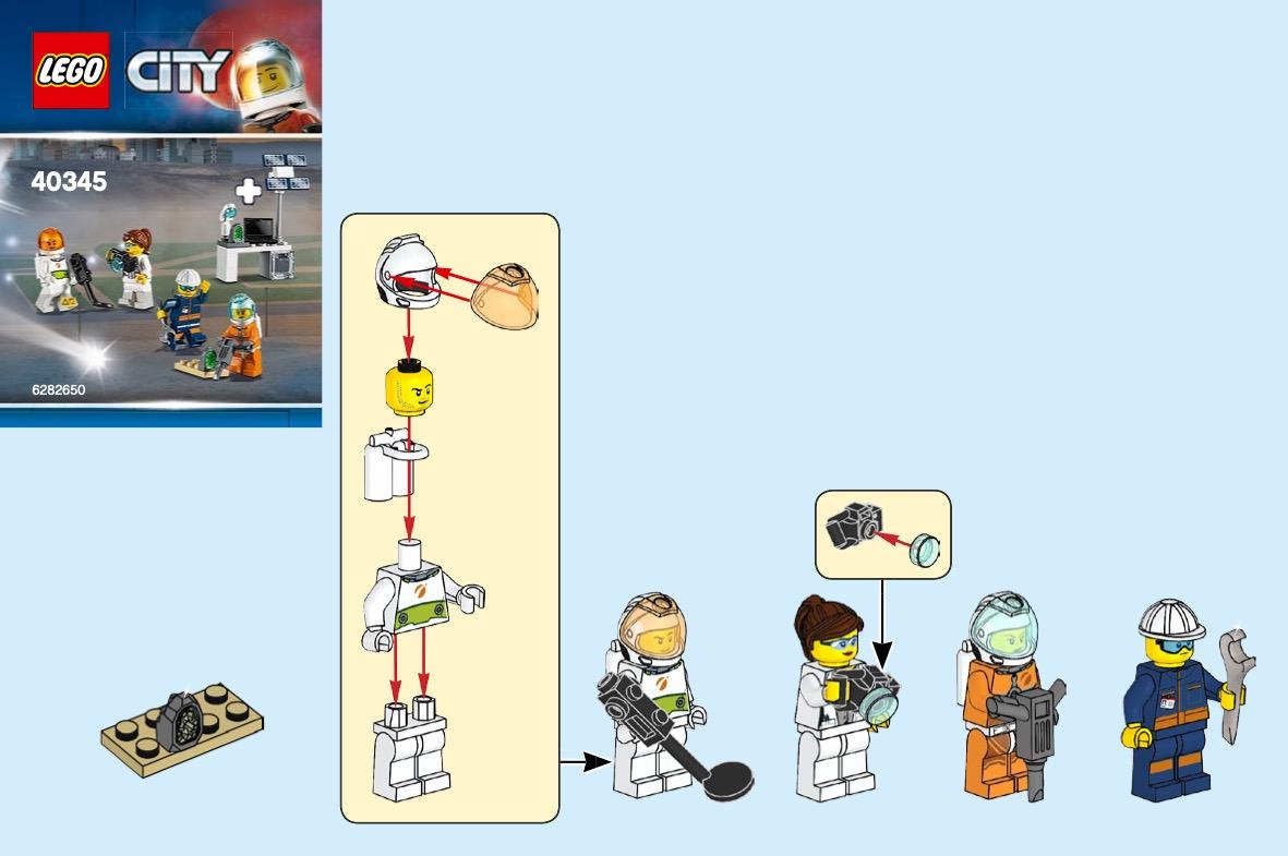 Mars Exploration Minifigure Pack