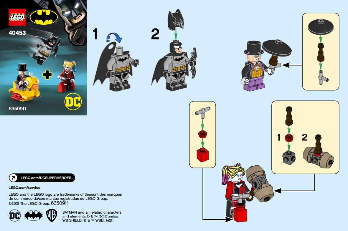 Batman Vs. The Penguin & Harley Quinn