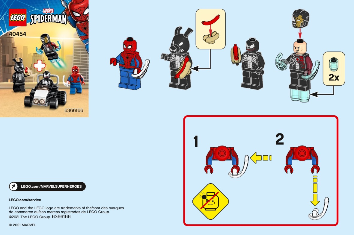 Spider-man Versus Venom And Iron Venom