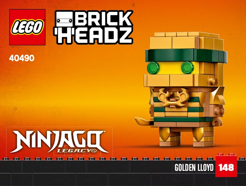 Ninjago 10th Anniversary Brickheadz