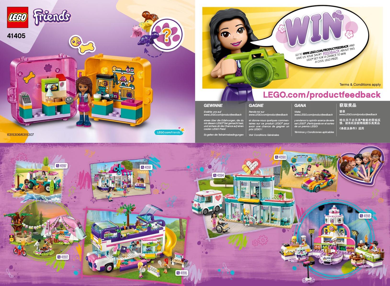 Andrea's Play Cube - Pet Shop