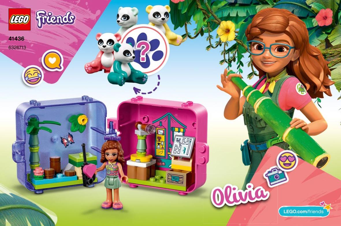 Olivia's Jungle Play Cube