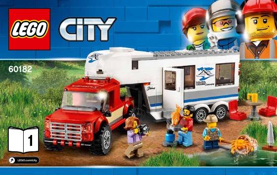 Pickup And Caravan