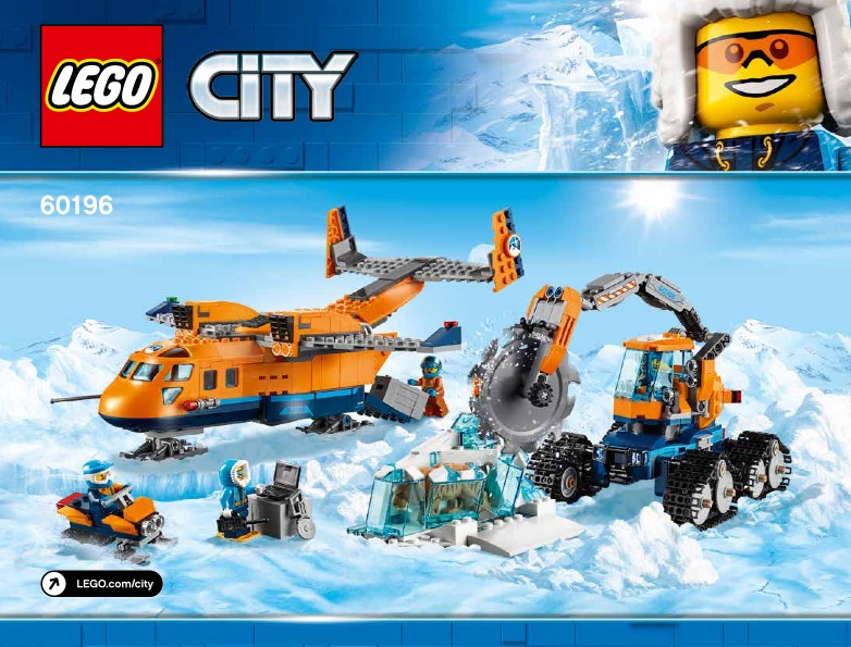 Arctic Supply Plane