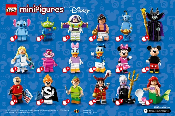 Lego Minifigures, The Disney Series