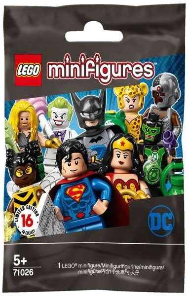 Lego Minifigures, Dc Super Heroes