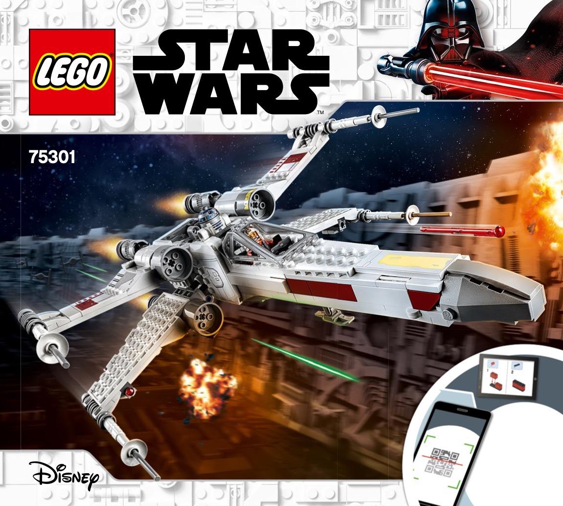 Luke Skywalkers X-wing Fighter