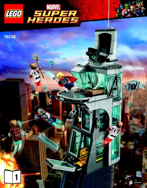 Attack On Avengers Tower