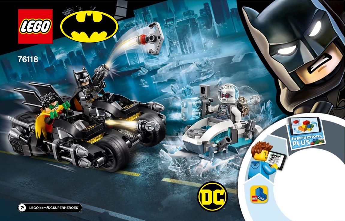 Mr. Freeze Batcycle Battle
