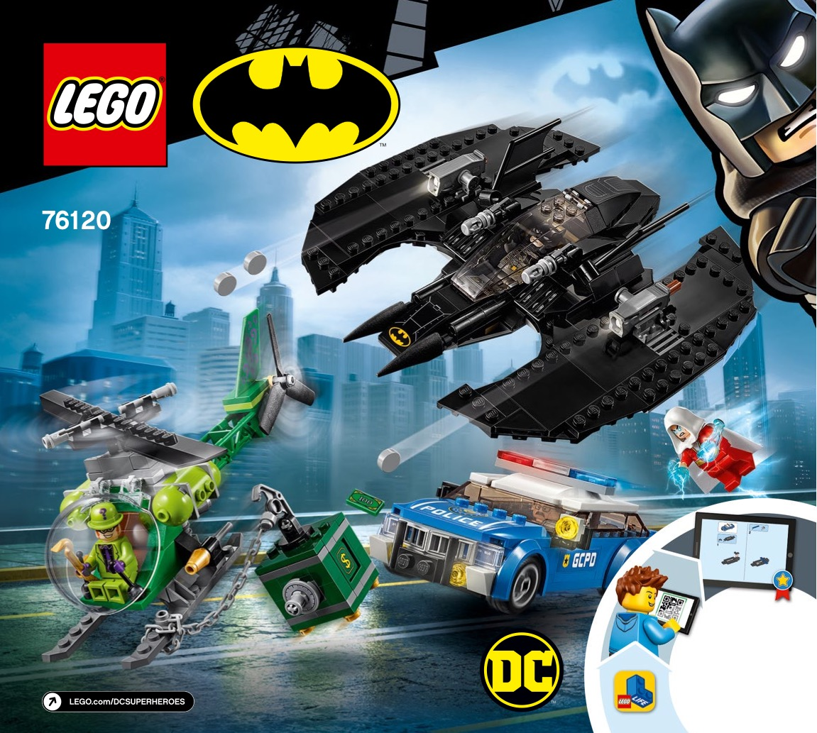 Batwing And The Riddler Heist