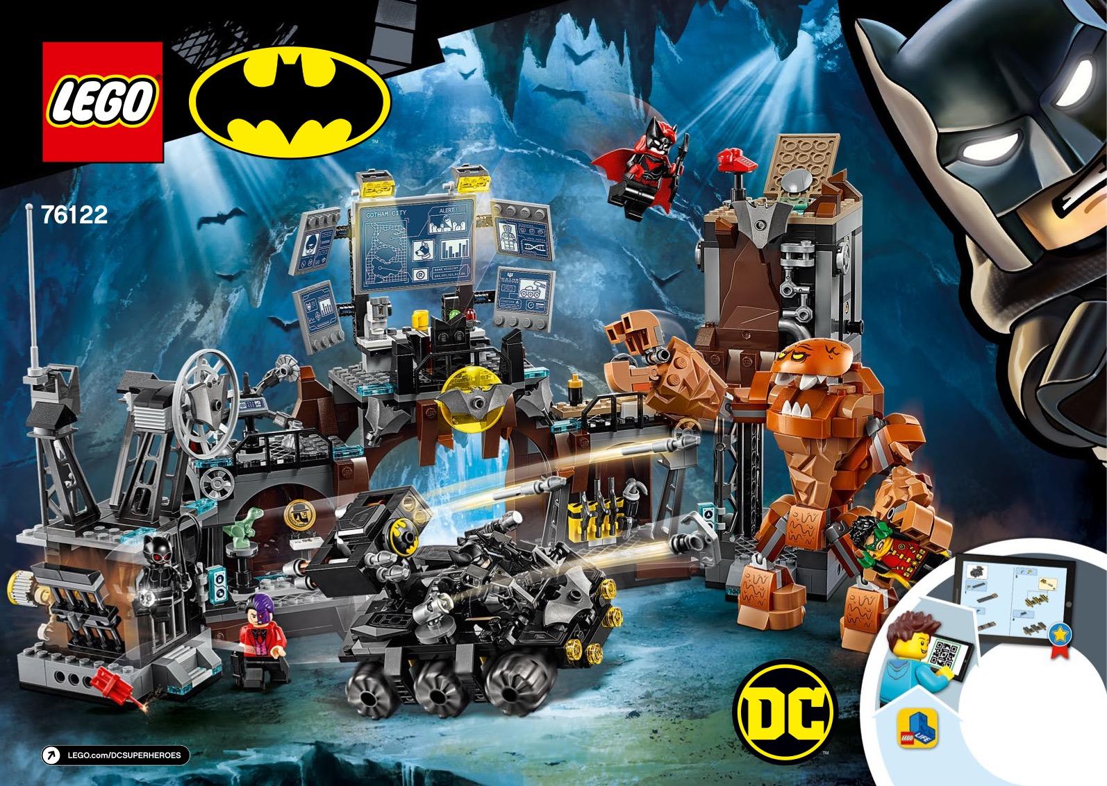 Batcave Clayface Invasion