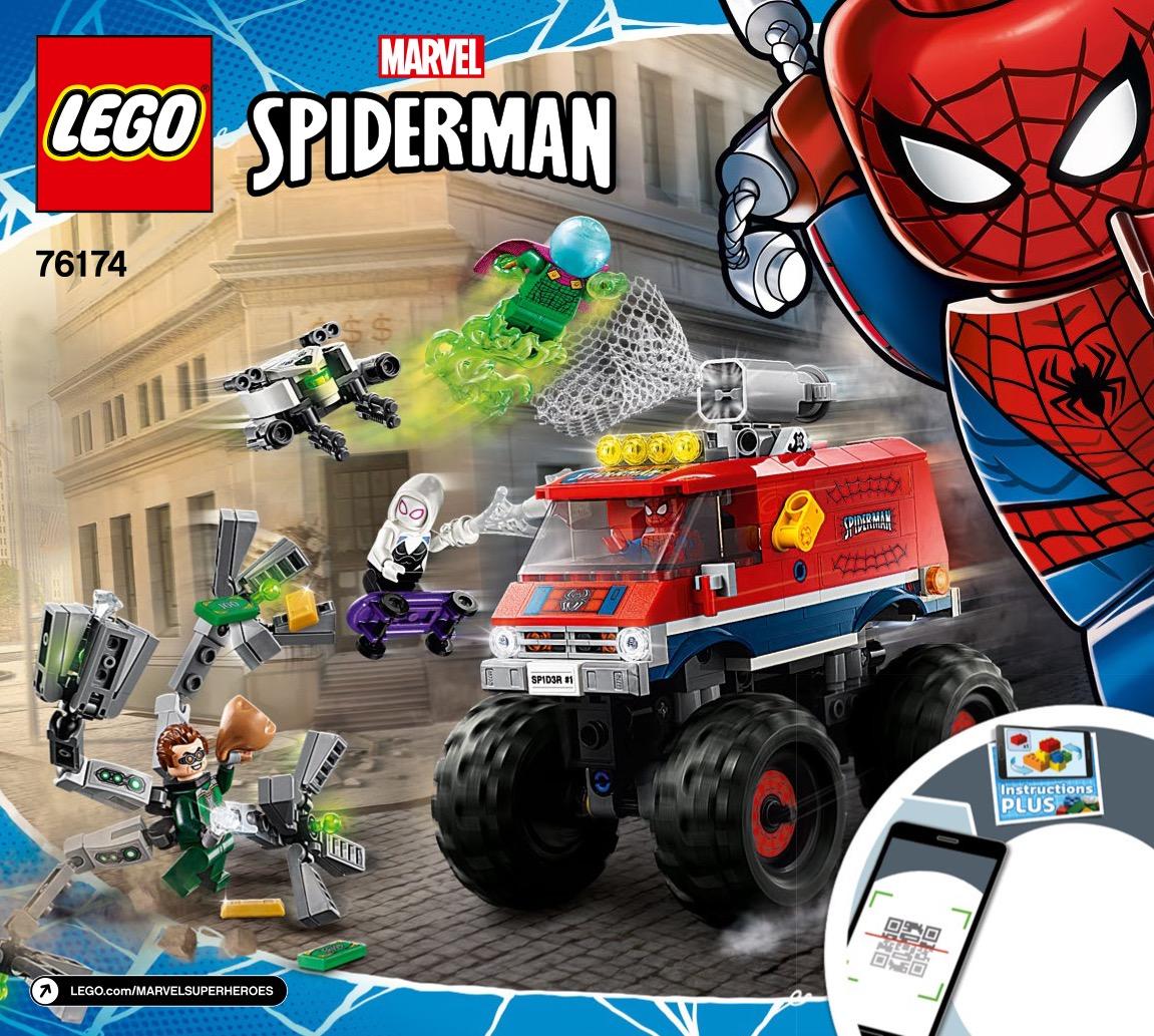 Spider-mans Monster Truck Vs. Mysterio