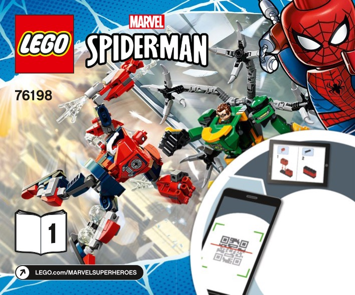 Spiderman And Doctor Octopus Mech Battle