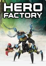 Go to LEGO Hero Factory Instructions